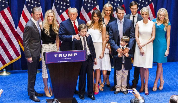 Reseña Inconclusa de una Familia Emprendedora: Posibles Negocios de los Trump en los Próximos 3 Años