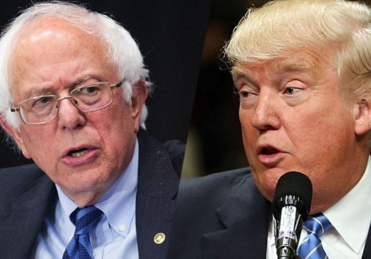 Un Bernie Sanders Más Fuerte Que Nunca, se Coloca al Frente de las Encuestas. Y También de los Ataques