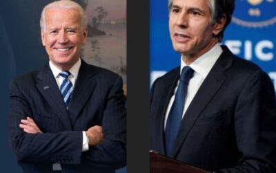 Biden Nombra un Centrista Con Mucha Experiencia al Frente de la Política Exterior Estadounidense